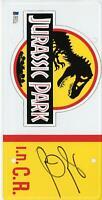 Laura Dern Jurassic Park Autographed License Plate - BAS