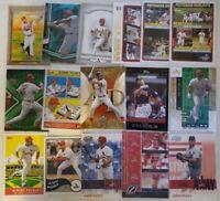 Albert Pujols 16 Card Baseball Card Lot ANGELS, CARDINALS