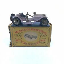 Boxed Matchbox Early Models Of Yesteryear Y-7 Mercer 1913 Raceabout Type 35 J