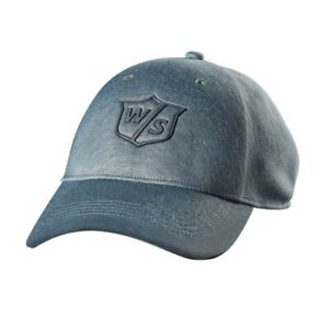 Wilson Staff One Touch Hat/Cap Light Ash Adjustable - New 2019