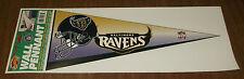 1996 Sticker Decal - Baltimore Ravens Wall Pennant - Nfl Football