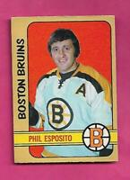 1972-73 OPC # 111 BRUINS PHIL ESPOSITO GOOD CARD (INV# D7740)