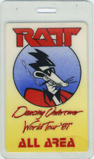 RATT 1987 Dancing Undercover Laminated Backstage Pass