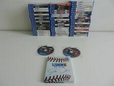 Lot of 61 PlayStation PS4 Games - NBA 2k20, Kingdom Hearts 2.8, Mad Max