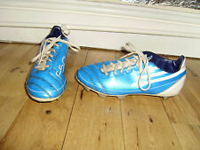 ADIDAS F50 SG FOOTBALL BLADES BOOTS ADULT SIZE 2 GOOD CONDITION