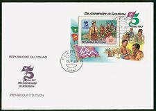 Mayfairstamps Chad 1982 Scouts Souvenir Sheet First Day Cover wwo96973