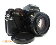 PENTAX PROGRAM A 35MM SLR CAMERA + SMC PENTAX-A 50MM F1.7 LENS EXCELLENT