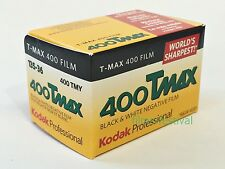 3 rolls Kodak 400TMAX 35mm 36exp Black and White Film 135-36 T-MAX