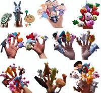 Story Telling Finger Puppets Nursery Rhyme Fairy Tale Aussie Animals Cartoon