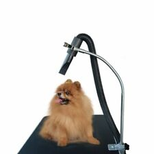Groomers Third Arm Pet Dryer Hose Holder With Clamp