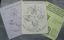 Federation Of Flyfishers West Yellowstone Conclave 1989 Program Pamphlets