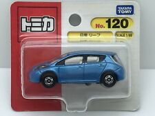 Tomica #120 Nissan LEAF 1/68 SCALE Takara Tomy Toy Vehicle NEW Discontinued BP