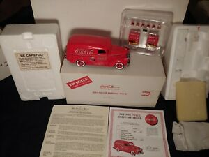 Danbury Mint 1941 Chevrolet Coca Cola Panel Delivery Truck. Title boxed paper.