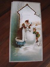 3 -1886 Large Victorian Trade Cards Phillips Teas & Coffees Brooklyn, E.D.