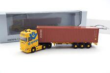 "#940696 Herpa Scania CS 20 HD 6x2 Cont.-Sz. ""acargo / Trucker Babe Jana"" - 1:87"