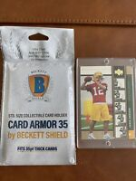 Aaron Rodgers 2005 Upper Deck Rookie Premiere #16 GOLD QB Green Bay Packers Rare