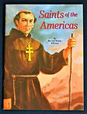 Saints of the Americas SC Children's Book Catholic Faith 2006 #529