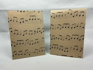 Wrapping Paper Sheets 2x Music Theme 70cm x 50cm