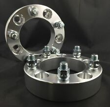 4X CNC Wheel Spacers Adapters ¦ 5X5.5 TO 5X5.5 ¦ 1 INCH THICK ¦ 9/16 STUDS