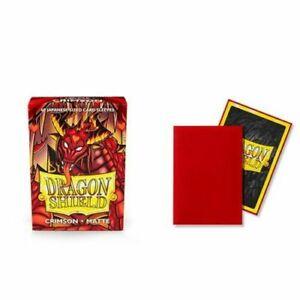 * Dragon Shields Matte Japanese Size 60 Count Pack Crimson