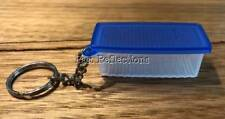 TUPPERWARE BLUE FRIDGESMART RARE FRIDGE  KEYCHAIN KEYRING
