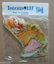 Duck Vintage Leomotif Cloth Sew On Patch Badge Crafting Sewing