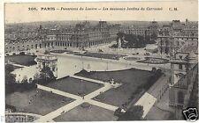 75 - cartolina - PARIGI - Panorama Louvre (H6332)