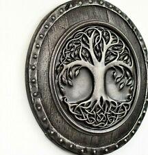Tree of life Viking Yggdrasil Iron Shield  Norse Celtic Wall Mount Home decor