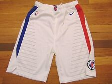 NWOT NIKE DRI-FIT NBA LOS ANGELES CLIPPERS WHITE SWINGMAN SHORTS SIZE YOUTH XL