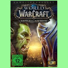 World of Warcraft Battle of Azeroth PC Spiel Key WoW BoA Battle.net Code EU DE