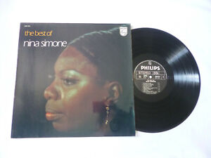 THE BEST OF NINA SIMONE ~ EX/EX ~ 1974 FRENCH PHILIPS SOUL VINYL LP ~ PLAYS WELL