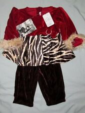 6a1942f735d NWT Boutique Greggy Girl  65 CHOCOLATE CHERRY 24 M Mo Set Christmas Outfit  Party
