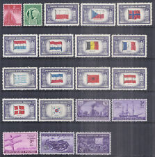 US 1943-1944 Commemorative Year Set w/ Overrun Countries 909-921 - MNH*