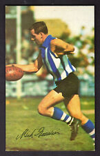 1966 Mobil Football Photo (15) - Michael Gaudion (North Melbourne) (NEAR MINT)