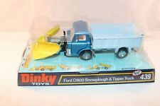 Dinky Toys 439 Ford D800 Snowplough Perfect mint in a SUPER box From trade box