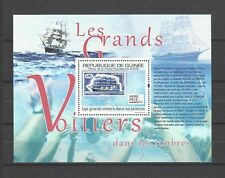 Guinea 2009  Les Grands Voiliers dans Les Timbres-Tall Ships on Stamps  MNH S/S
