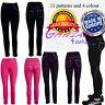 Girls Full Length Leggings pocket decoration age 3 4 5 6 7 8 9 10 11 12 13 Years