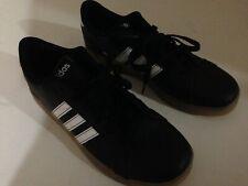 Junior Adidas basal K Zapatillas AH2243 Negro Blanco Gum 100% original usado una vez!