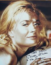 SHIRLEY EATON: James Bond. Bond Girl in 'Goldfinger'. Hand-signed 8x10 photo COA