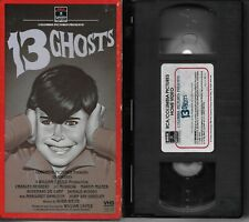 13 Ghosts 1960 (bought new played once & stored) 1985 VHS