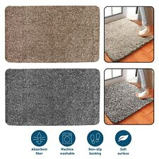 Super Absorbent Door mat Washable Anti Slip Magic Doormat Clean Indoor Outdoor