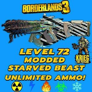 Playstation Xbox Borderlands 3 Modded Starved Beast (Psycho Krieg DLC 4)