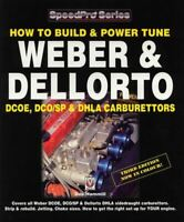 Build And Power Tune Weber And Dellorto Carbs Dcoe Dhla Carburettors Book Manual