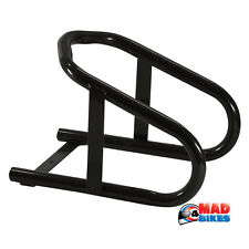MOTORCYCLE / MOTORBIKE / MX FRONT WHEEL STAND / CHOCK / BRACE. FOR VAN, TRAILER,