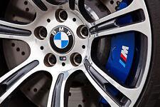4x M Bremssattel M Power Sticker Bremse Aufkleber BMW 48mm X1 X2 X3 X4 X5 X6 X7