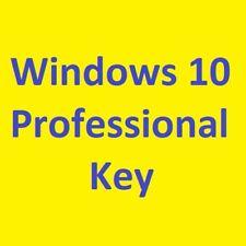Win  éléments 10 Pro Professional 32 & 64 Bits product Key Clé de produit