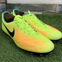 UK9 Nike Magista Ola II FG Football Boots - Bright Yellow - Moulded Studs EU44