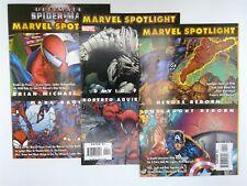 Marvel Spotlight: Bendis, Finch, & Heroes Reborn #1 Marvel Comics Fn