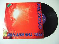 """Prezioso – Feel The Rhythm -Disco Mix 12"""" 45 Giri Vinile ITALIA 1995 Euro House"""