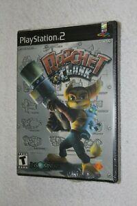 Ratchet & Clank 1 (PlayStation 2, PS2) New Sealed Black Label w/ UPC Rare!